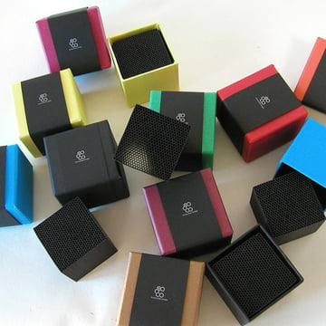 Chikuno - Cube Luftreiniger, Verpackungen