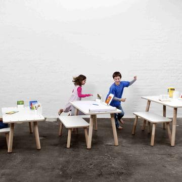 Der Growing Table Tisch in allen drei Größen