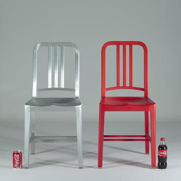 Emeco - 111 Navy Coca-Cola Stuhl