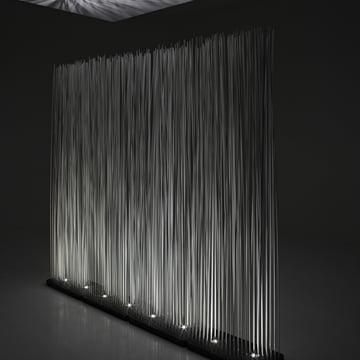 Sticks Indoor Raumteiler beleuchtet von Extremis