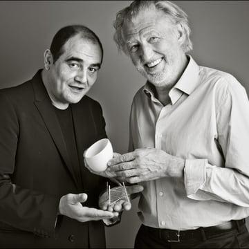 Alessi - Le Nid - mit Designern Ghion, Gagnaire