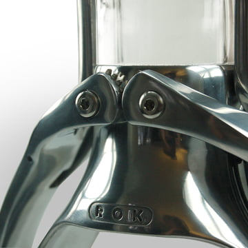 Die Espressomaschine von ROK im Detail