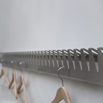 schindlersalmerón - Kleiderleiste K/02, 200cm - mit Bügeln