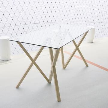 Hans Hansen - Tischbock Mika-Set, natur