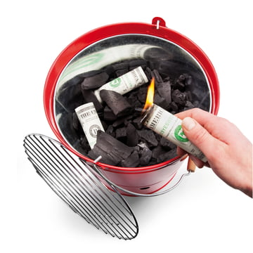 Donkey Products - Burn your money, Dollar - Grill