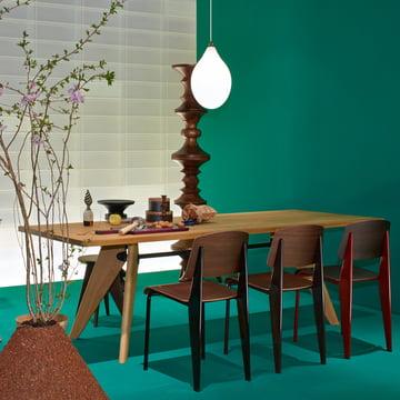 Table Solvay Esstisch von Vitra