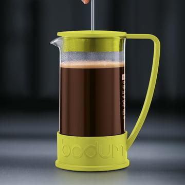 Bodum - Brazil Kaffeebereiter, 1,0 L, Limette - Zubereitung 3