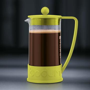 Bodum - Brazil Kaffeebereiter, 1,0 L, Limette - Zubereitung 4