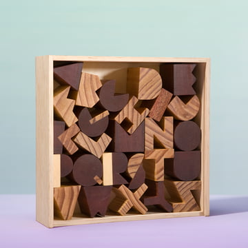 Areaware - Alphabet Blocks - mit Box