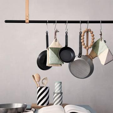 Ferm Living - Clothes Rack, hängende Garderobenstange