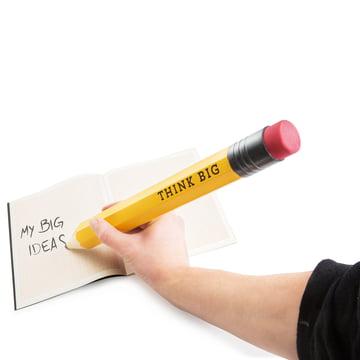 Donkey Products - Think Big XXXL Bleistift - beim Schreiben