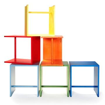wb form - Ulmer Hocker - farbige Varianten