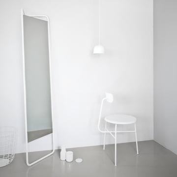 Menu - Kaschkasch Spiegel, weiß