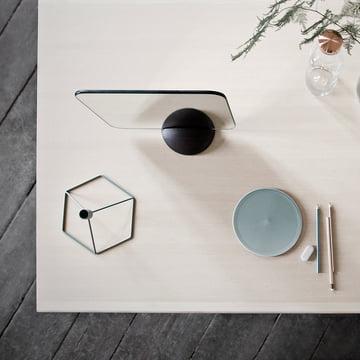 Gridy Me Spiegel und POV Tisch-Kerzenhalter von Menu