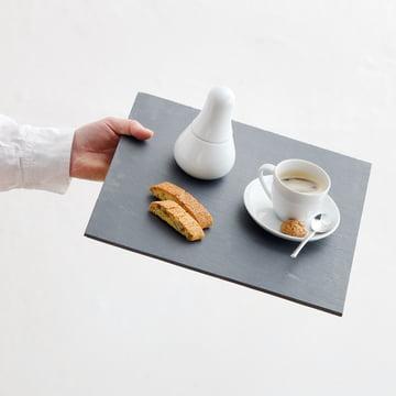 Kahla - Magic Grip Espresso, weiß