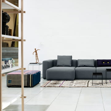 Hay - Tray Table und Mags Soft Sofa