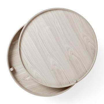 Menu - Turning Table, Eiche weiß, geöffnet