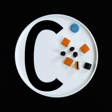 Design Letters - AJ Porzellan Teller C