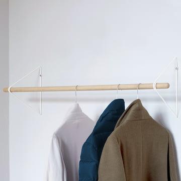 Die vonbox - Spring Garderobe in eiche / weiss
