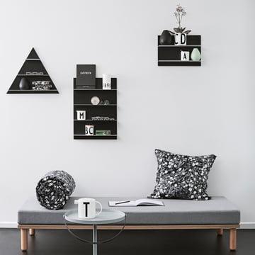 Design Letters - Black Paper Regal A3 / A2 / Triangle