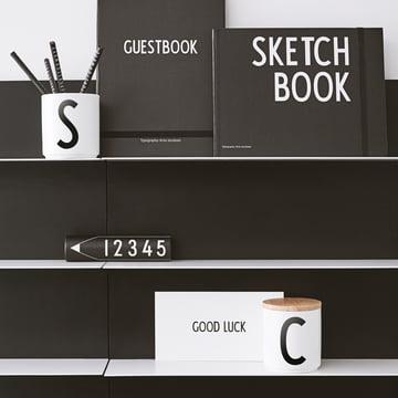 Design Letters - Black Paper Regal A2