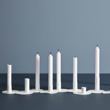 Cluster Kerzenhalter in verschiedenen Versionen