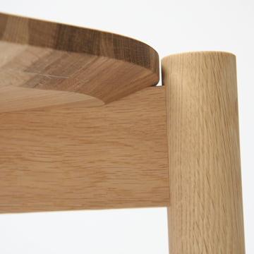Castor Table von Karimoku New Standard in Eiche