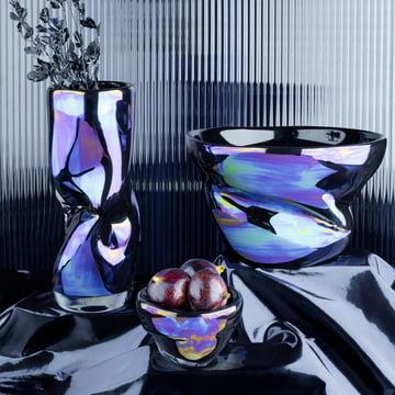 Warp Schale und Vase von Tom Dixon