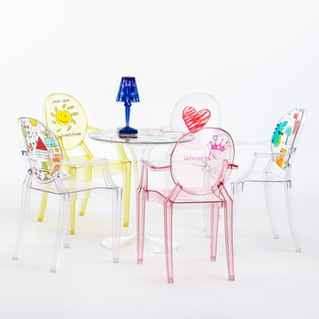 Kartell - Lou Lou Ghost Special Edition - Family