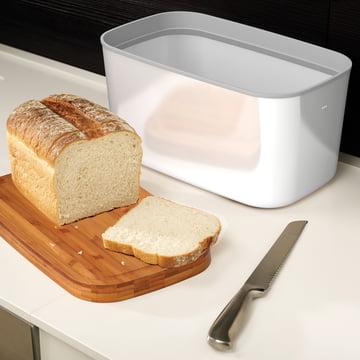 Steel Bread Bin von Joseph Joseph