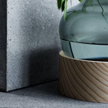 Vase von Fritz Hansen aus Glas