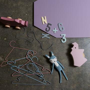 Kinderkleiderbügel und magnetische Produkte von Sebra