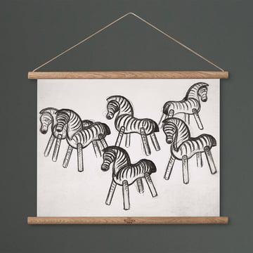 Zebra Zeichnung von Kay Bojesen Denmark
