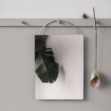 Adorn Messing-Spiegel von ferm Living