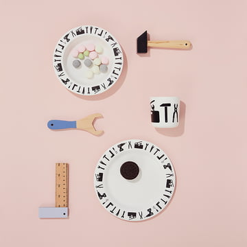 Tool School Melamin-Set von Design Letters