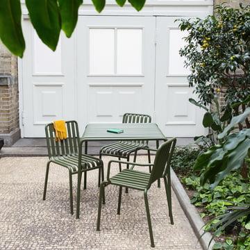 Palissade Stuhl und Tisch von Hay