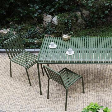 Palissade Tisch und Stühle von Hay