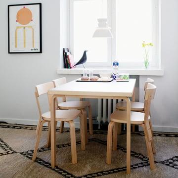 Tisch 81B von Alvar Aalto für Artek