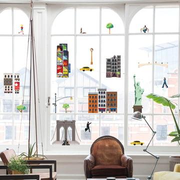 Lekkerplèkkuh Fensterdekoration New York von Fatboy