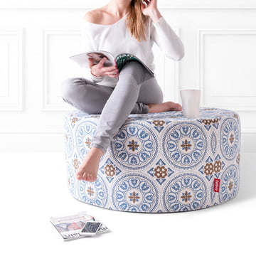 Pfffh Outdoor Pouf in Blau von Fatboy
