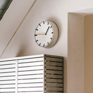 Die Hay - Analog Uhr in weiß