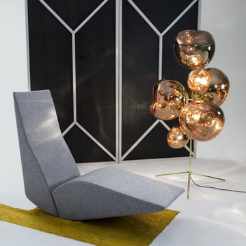 Bird Chaiselongue von Tom Dixon