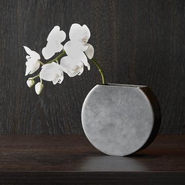 Moon Vase von Menu in Messing brüniert