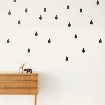 Mini Drops Wandsticker von ferm Living