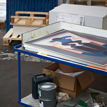You As A Mirror by Geoff Mcfetridge Poster von Hay