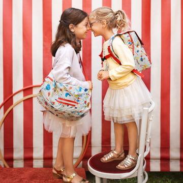 reisenthel - mini maxi dufflebag S kids, circus und backpack kids, circus