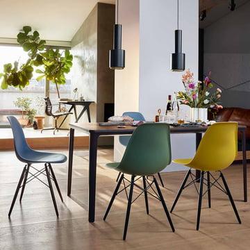 Eames Plastic Chairs in neuen Farben