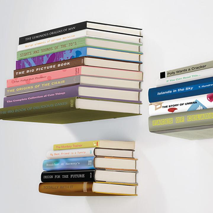 Das Vielfalt des Conceal Bücherregals