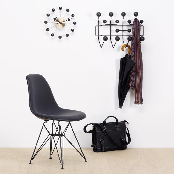 Vitra Hang it all Garderobe (Special Edition), schwarz/schwarz