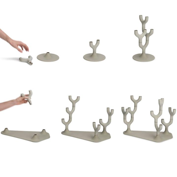 Petite Friture - Segment Kerzenständer-System
